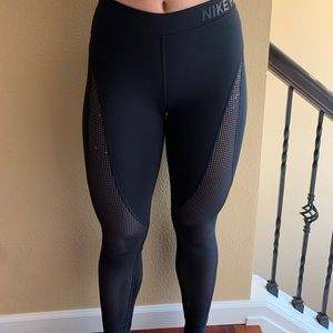 Nike mesh leggings